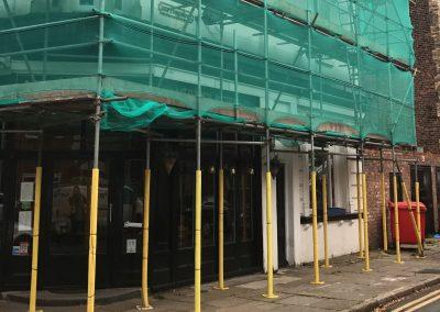 scaffolding in st helens