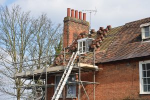 recent project for scaffolding in Leigh- image shows some scaffolding we erected around a house
