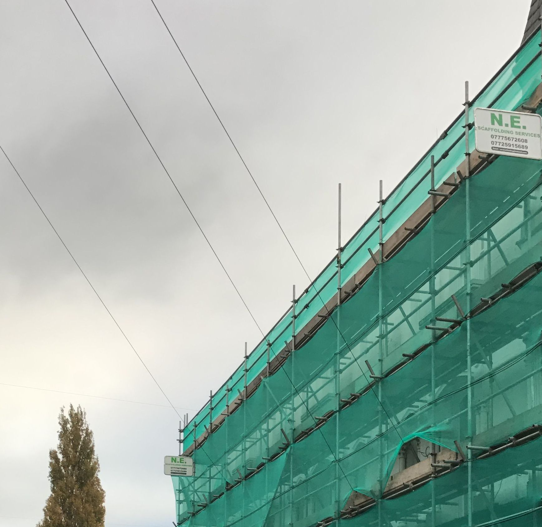 recent project for scaffolding in st helens